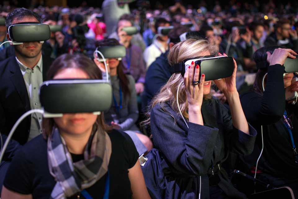 Facebook wants to be the moon landing of virtual reality social media