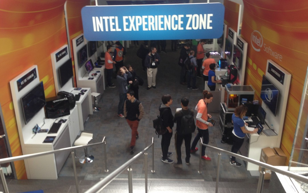 Hands on: Virtual reality with Intel RealSense at #GDC 2016
