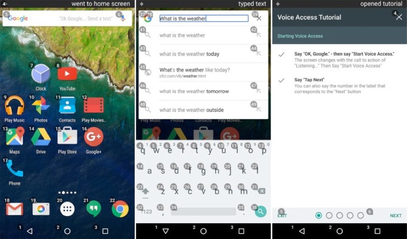 Google Voice Access allows you to use an Android device hands free