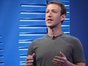 Facebook CEO Mark Zuckerberg at the F8 conference on Apr. 12 (Photo: Robert Hof)