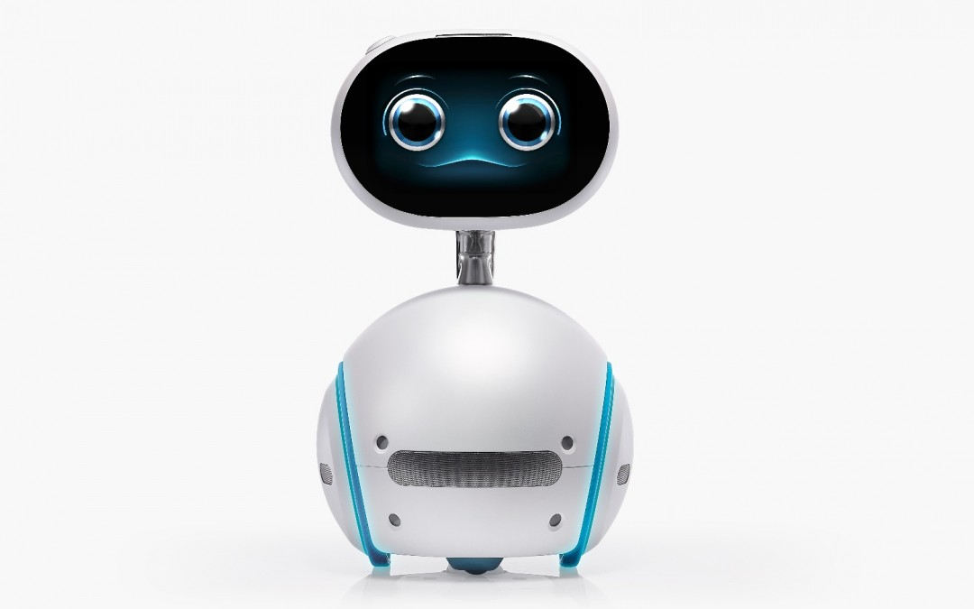 Asus reveals cute, mobile robot named Zenbo for your smart home