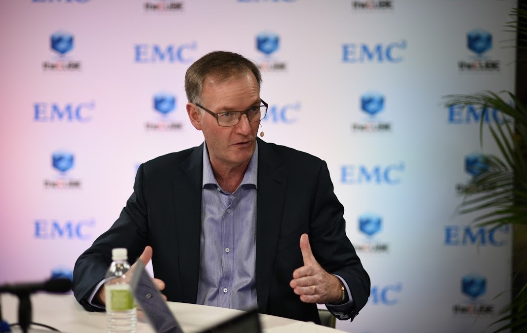 EMC's David Goulden talks of the challenges fusing cloud-native apps with traditional infrastructure | #emcworld