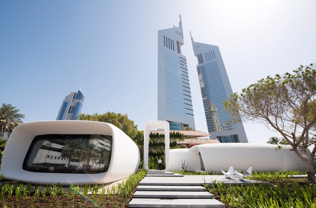 Dubai claims to have built the world's first 3D printed office