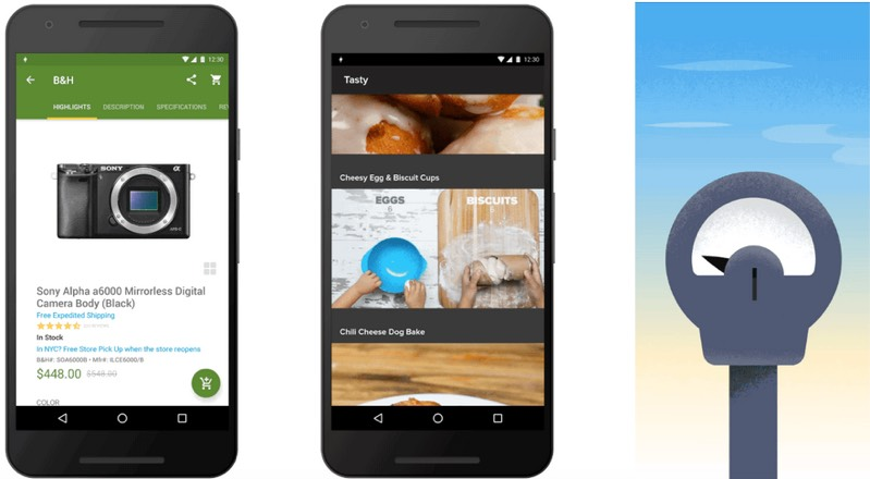 Android Instant Apps delivers access to apps without the need to install them