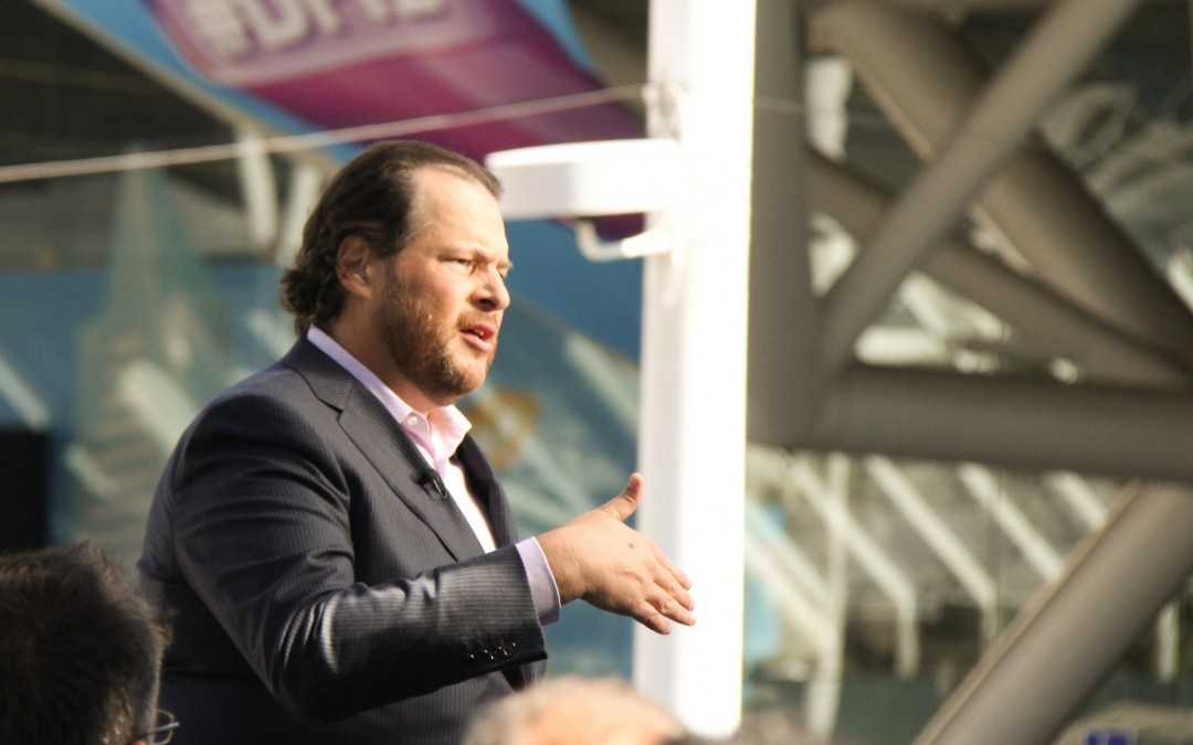 Marc Benioff reveals Salesforce also tried to buy LinkedIn