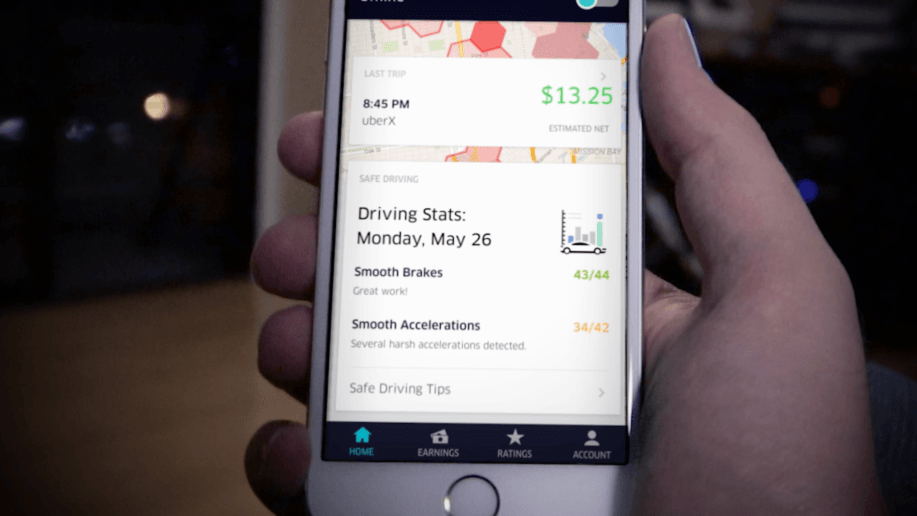 Uber rolls out app changes to encourage safe driving habits