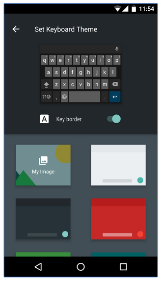how to customize your android google keyboard with colors and images