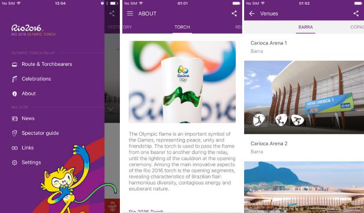 olympics dating app