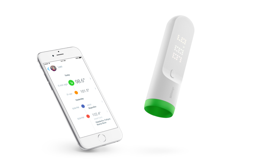 Nokia delves deeper into IoT healthcare market with Withings smart thermometer launch