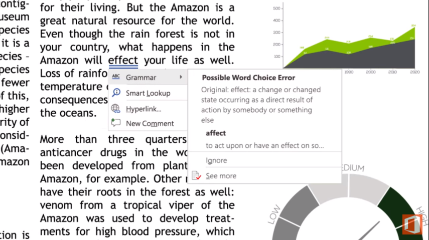 Office 365 gets new AI-powered editing and research functionality