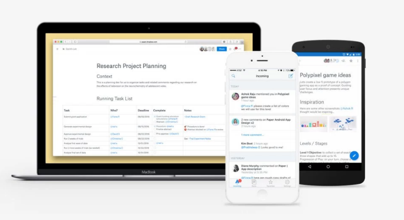 Tips for Dropbox Paper cloud collaboration tool & mobile app