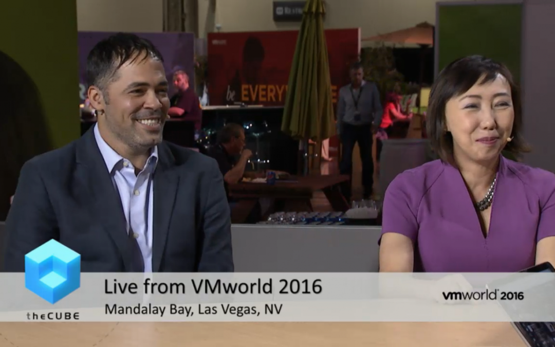 Is VSAN becoming the foundational layer of business' modern infrastructure? | #VMworld