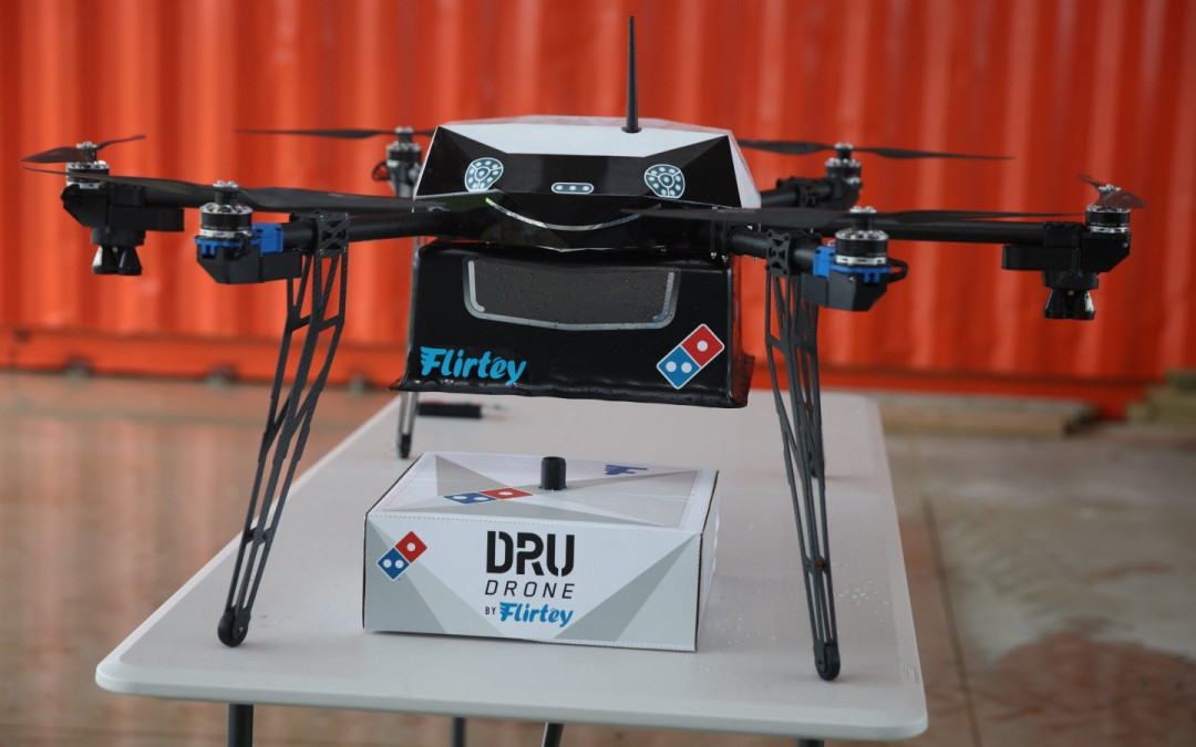 Domino's teams up with Flirtey for drone pizza delivery in New Zealand