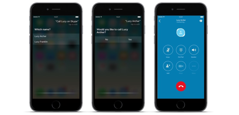 Skype for iOS 10 updated with Siri integration, new ...