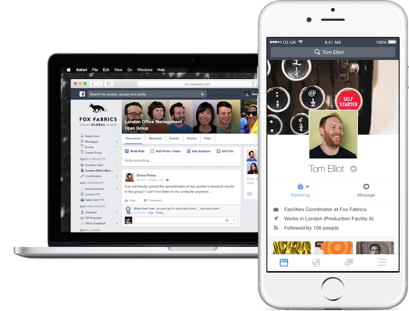 Facebook At Work Launching Soon