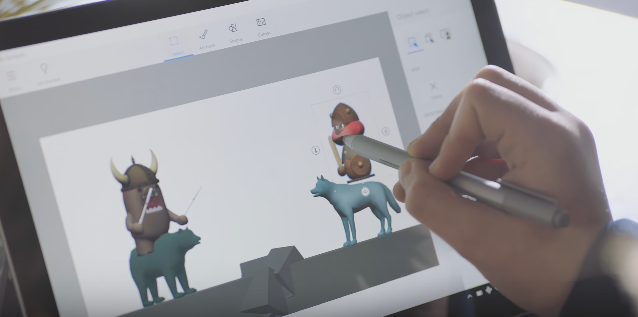 Microsoft Paint now works in 3D, making it ripe for virtual reality