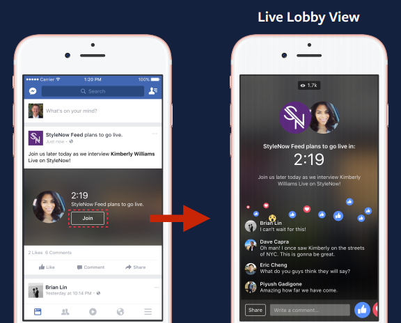how to get go live on facebook