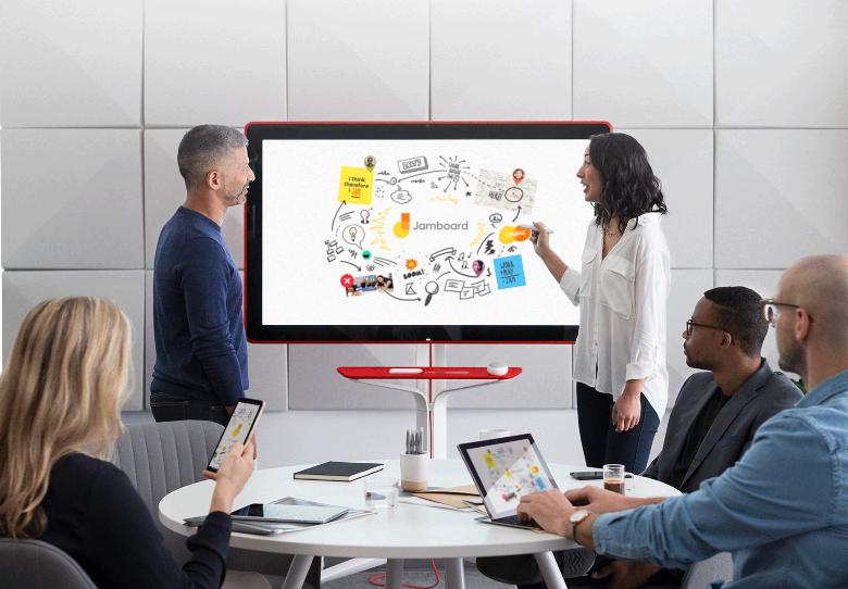 Google launches digital whiteboard Jamboard, takes on Microsoft Surface Hub