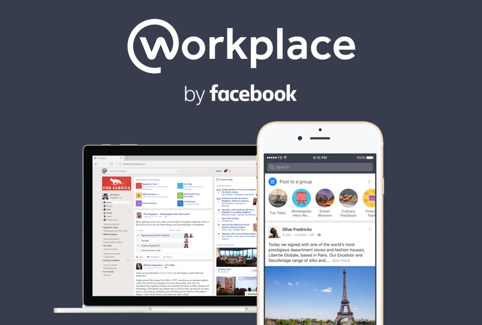 Look out, Slack: Facebook Workplace brings social media to the enterprise