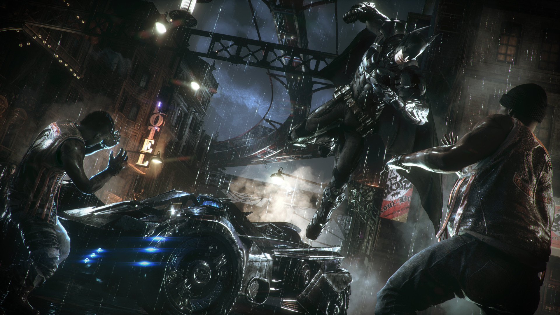 Batman Arkham Knight Patch Is Live But You Still Can T Buy It On