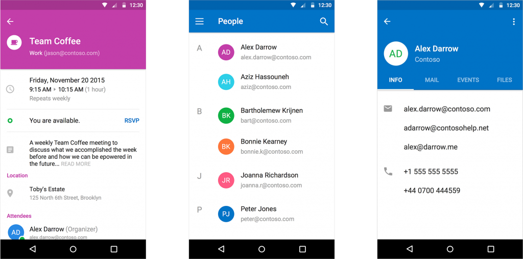Microsoft Updates Outlook For Ios And Android And Says Its