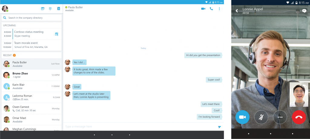 Skype for sexting