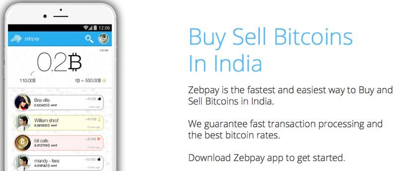 Indian bitcoin wallet provider zebpay raises 1m series a siliconangle zebpay ccuart Gallery