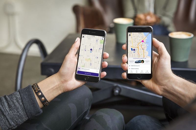 How to use lyft without a smartphone
