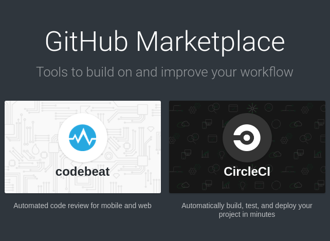 GitHub opens the doors to its developer marketplace