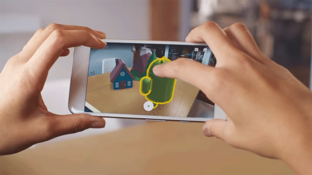 In a challenge to Apple, Google brings augmented reality to Android