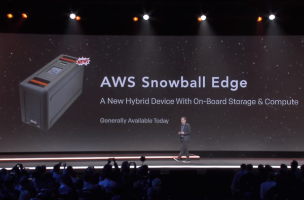 AWS adds new instance types for its Snowball Edge device and