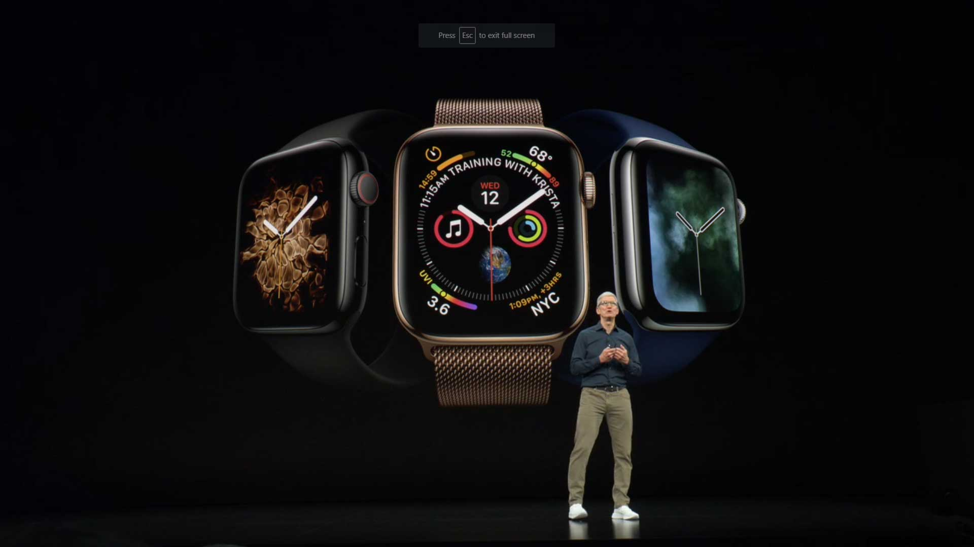 Apple wows at unveiling of Series 4 Watch and iPhone XS, XS Max and