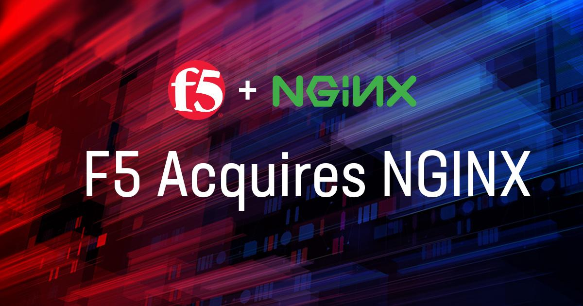 F5 Networks buys NGINX for $670M to move into app delivery services