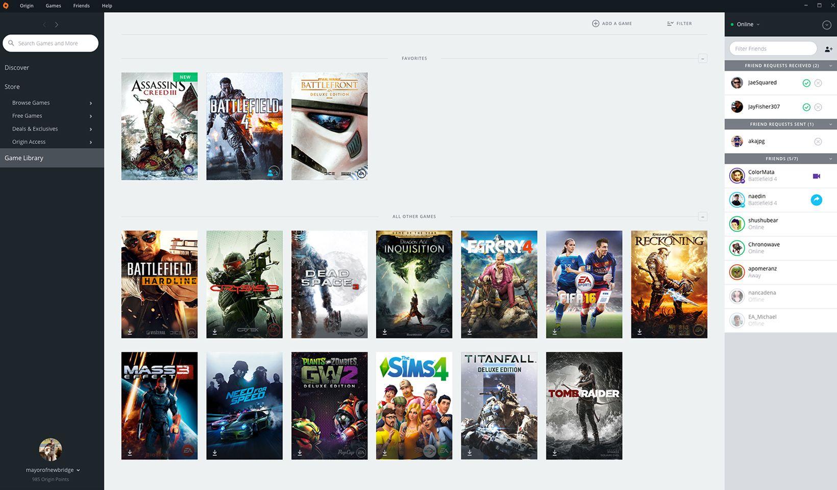 origin gaming download