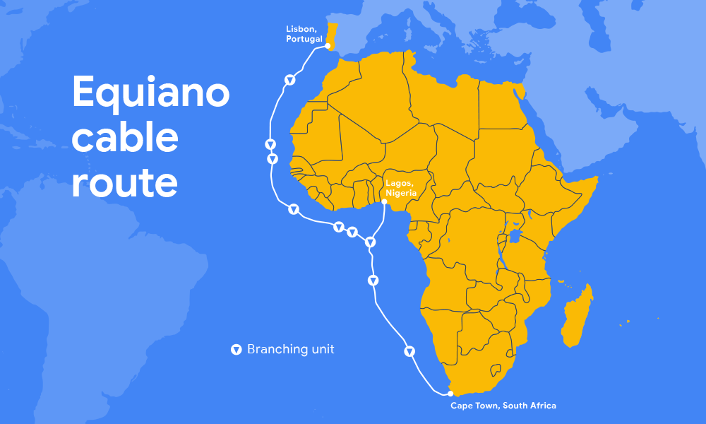 Google is building another subsea cable to link ... on map of portugal, humans in portugal, lisbon portugal, capital of portugal,